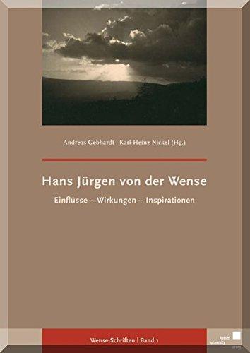 Hans Jürgen von der Wense: Gebhardt, Andreas /
