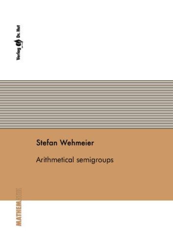 9783899631425: Arithmetical semigroups