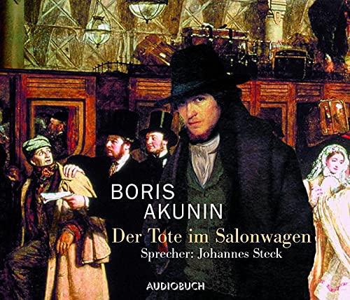 9783899640793: Der Tote im Salonwagen. 6 CDs . Fandorin ermittelt