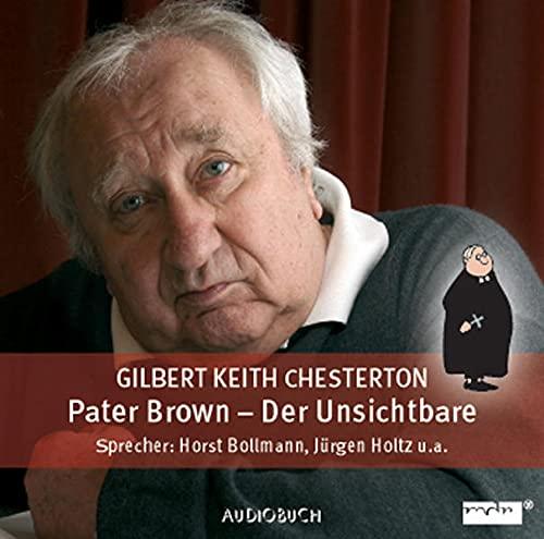 9783899641325: Pater Brown 1. Der unsichtbare Mann / CD . MDR-H�rspiel