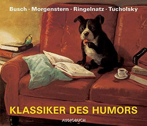 9783899644029: Klassiker des Humors - 107 Gedichte und Geschichten auf 4 CDs mit 303 Min.