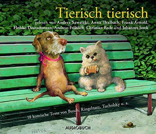 9783899644470: Tierisch tierisch/CD
