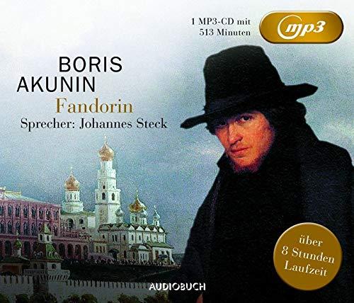 9783899647556: FANDORIN MP3 - AKUNIN,BORIS