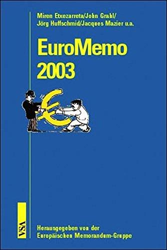 9783899650204: EuroMemo 2002