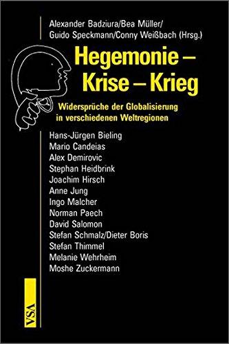 9783899651157: Hegemonie - Krise - Krieg