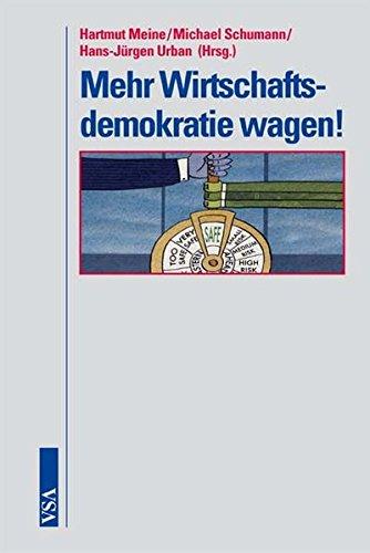 9783899654523: Mehr Wirtschaftsdemokratie wagen