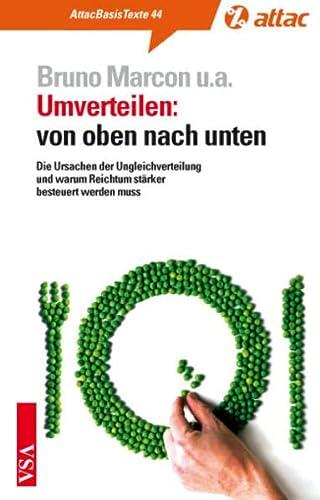 9783899655650: Umverteilen: von oben nach unten: Die Ursachen der Ungleichverteilung und warum Reichtum stärker besteuert werden muss