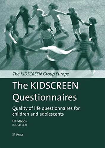 9783899673340: The KIDSCREEN questionnaires, w. CD-ROM
