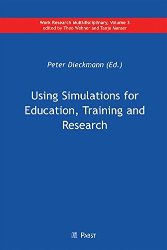 9783899675399: Using Simulations for Education, Training and Research
