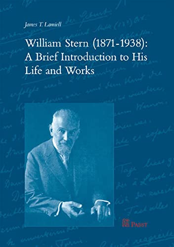9783899675894: William Stern (1871-1938): A Brief Introduction to His Life and Work