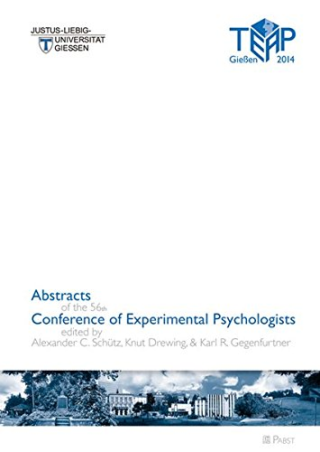 Abstracts of the 56th Conference of Experimental Psychologists: Alexander Schütz