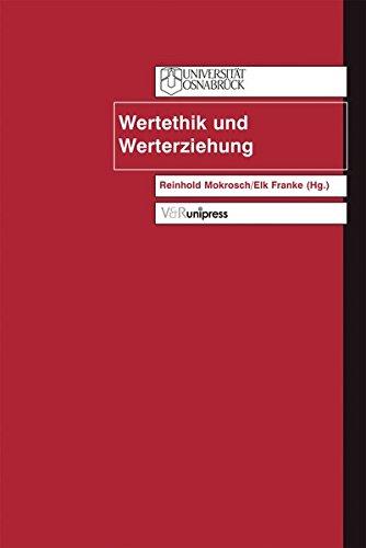 9783899711387: Wertethik und Werterziehung (Johnson Jahrbuch)