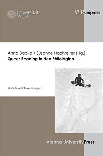 9783899713879: Queer Reading in den Philologien: Modelle und Anwendungen