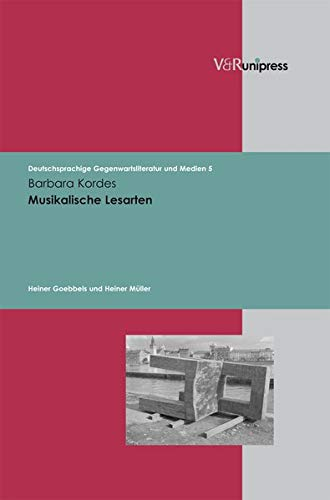 9783899715606: Musikalische Lesarten (Deutschsprachige Gegenwartsliteratur und Medien)
