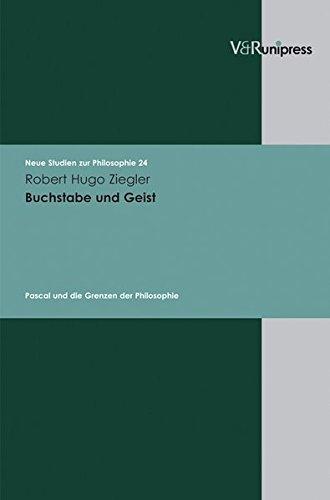 Buchstabe und Geist: Robert Hugo Ziegler