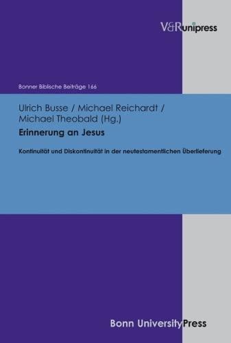 Erinnerung an Jesus: Ulrich Busse