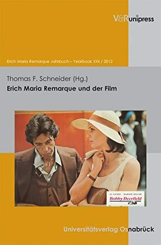 9783899719833: Erich Maria Remarque Jahrbuch 22/2012. Erich Maria Remarque und der Film (Erich Maria Remarque Jahrbuch / Yearbook)