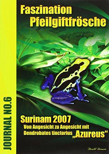 9783899733068: Faszination Pfeilgiftfrösche - Surinam 2007