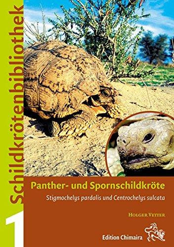 9783899735017: Panther- und Spornschildkröte