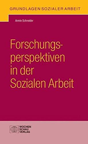 Forschungsperspektiven in der Sozialen Arbeit: Schneider, Armin