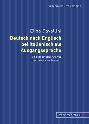 9783899751987 Deutsch Nach Englisch Bei Italienisch Als