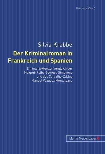 Der Kriminalroman in Frankreich und Spanien: Silvia Krabbe