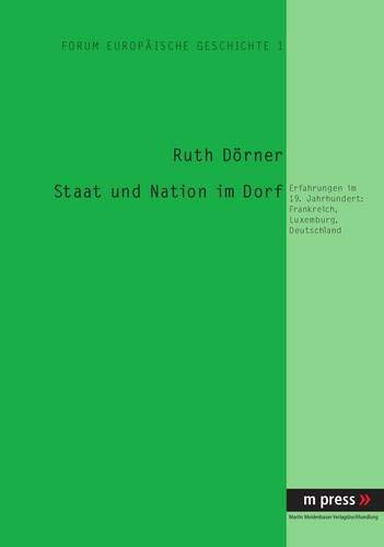 Staat und Nation im Dorf: Ruth Dörner
