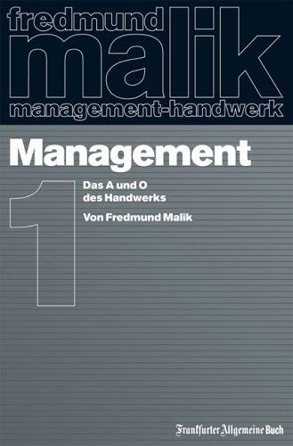 9783899810714: Management. Das A und O des Handwerks