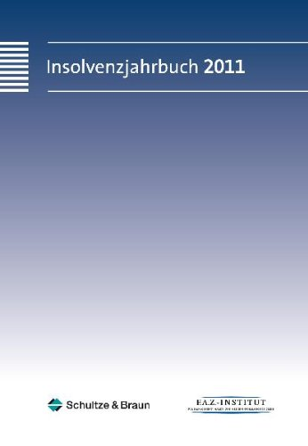 9783899817119: Insolvenzjahrbuch 2011