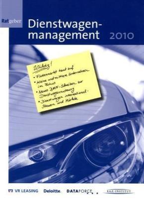 9783899817485: Ratgeber Dienstwagenmanagement 2010