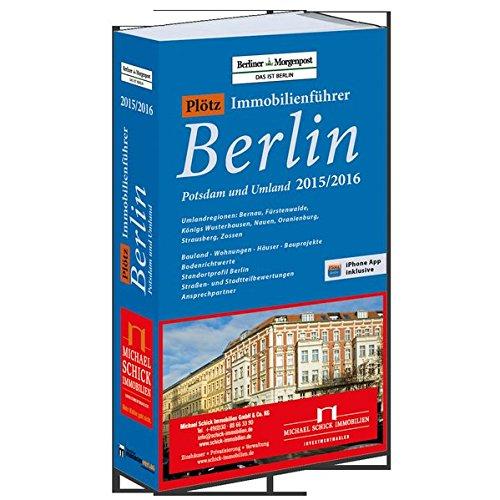 9783899843866: Pl�tz Immobilienf�hrer Berlin 2015/2016