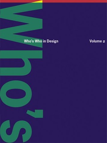 9783899860023: Who's Who in Design: Volume 2