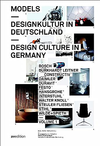 9783899861068: Models: Design Culture In Germany / Designkultur in Deutschland (English and German Edition)
