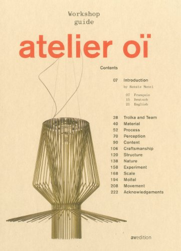 9783899861648: Atelier Oï: Workshop Guide