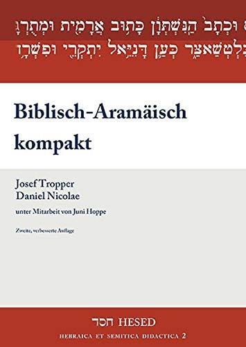 9783899911442: Biblisch-Aramäisch kompakt