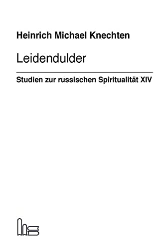 9783899911565: Leidendulder