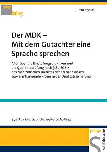 9783899931365: Der Mdk - Mit Dem Gutachter Eine Sprache Sprechen