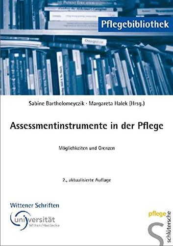 9783899932249: Assessmentinstrumente in der Pflege: M�glichkeiten und Grenzen