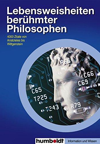 9783899940695: Lebensweisheiten berühmter Philosophen