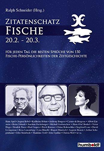 9783899941074: Zitatenschatz Fische - 20.02. - 20.03