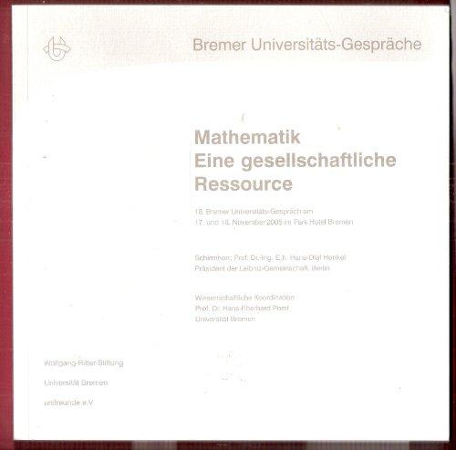 Mathematik - eine gesellschaftliche Ressource: Hans E Porst