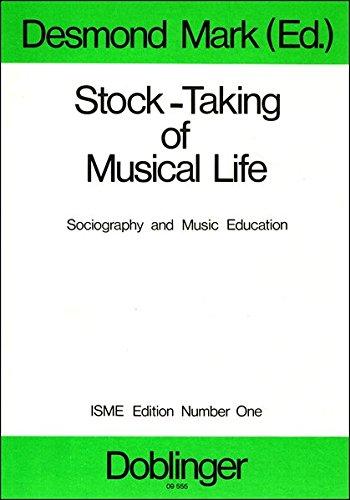 Stock-Taking of Musical Life: Desmond Mark