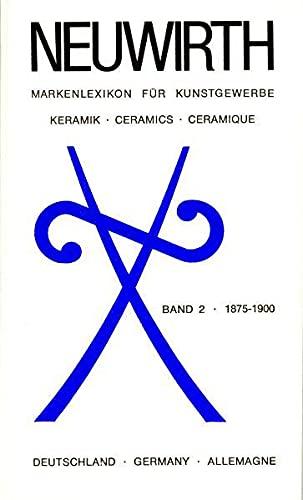 Deutschland Germany Allemagne Keramik Ceramics Ceramique 1875-1900: Neuwirth, Waltraud