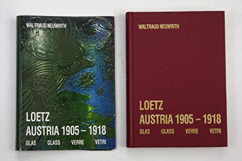 9783900282271: Loetz Austria 1905-1918: Glas = Glass = Verre = Vetri (German, English, French and Italian Edition)