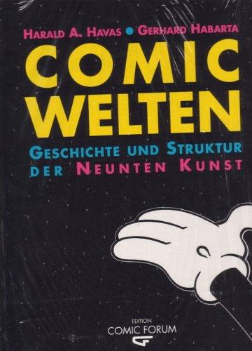9783900390617: Comic Welten. Geschichte und Struktur der neunten Kunst