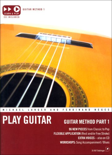 Play Guitar: Guitar Method, Part 1 (3900695687) by Langer, Michael; Neges, Ferdinand