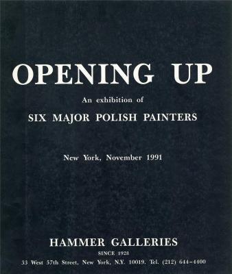 OPENING UP, an Exhibition of Six Major: GRABSKI JOZEF, SWICA