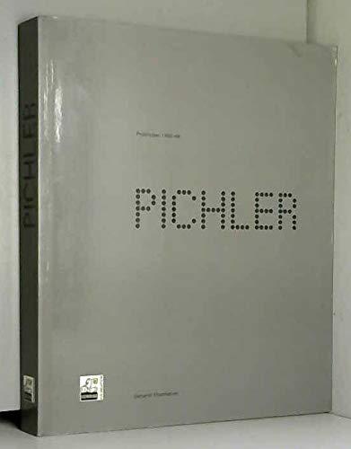 9783901107207: Pichler: Prototypen/prototypes 1966-69 (German Edition)