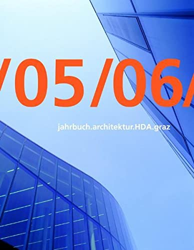 9783901174629: Jahrbuch Architecture HDA Graz 2005/2006