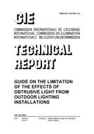 9783901906190: CIE 150:2003: Guide on the limitation of the effects of obtrusive light from outdoor lighting installations